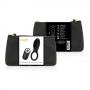 Anillo vibrador control remoto recargable negro Coquette
